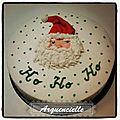Gâteau Père Noël