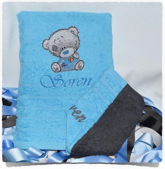 Serviette de douche personnalisée TEDDY BEAR