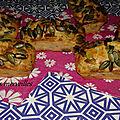 Mini-cakes au jambon et aux graines de courges