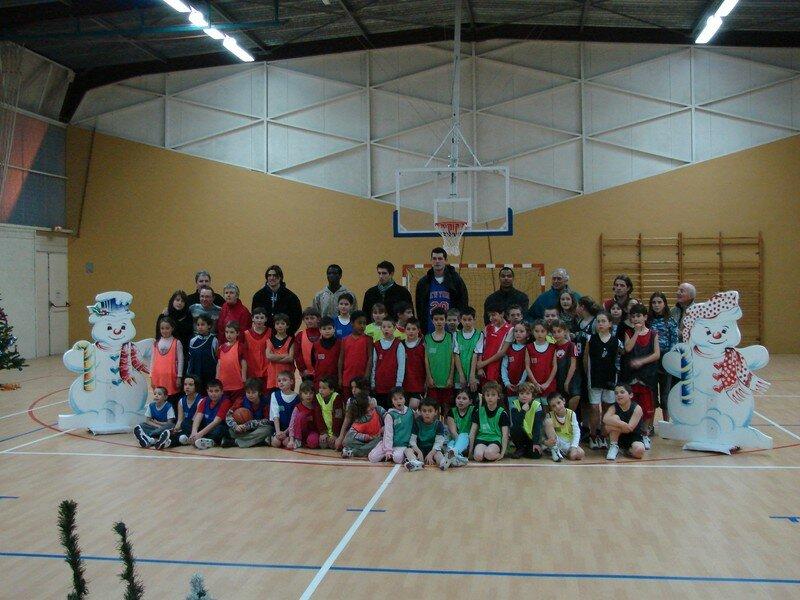 photo d'école...de basket
