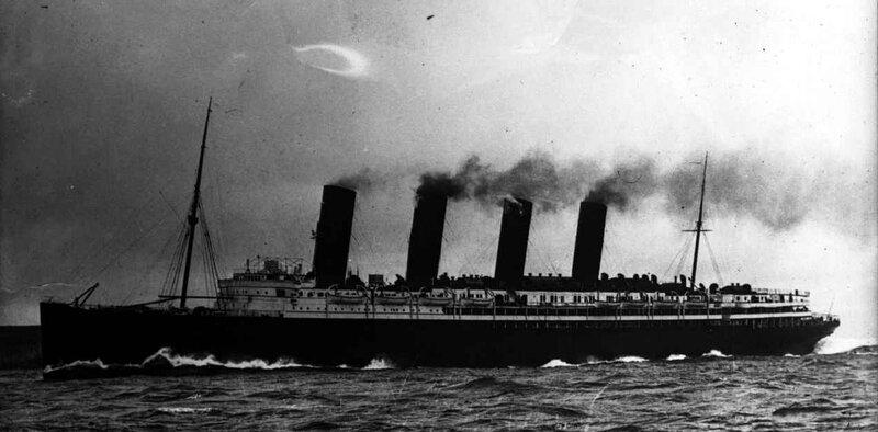 Lusitania paquebot
