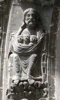 Le sein d'Abraham, Saint-Denis