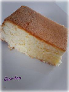 Brownie choco blanc