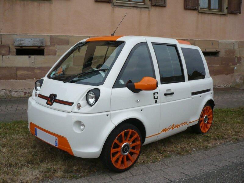 MIA ELECTRIC Mia miAmore voiture électrique 2013 Entzheim (1)