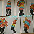 Des coiffes d'afrique à prolonger