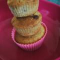 Muffins à la banane, 3 parfums, 1 base, sans blé, sans lait, sans oeuf