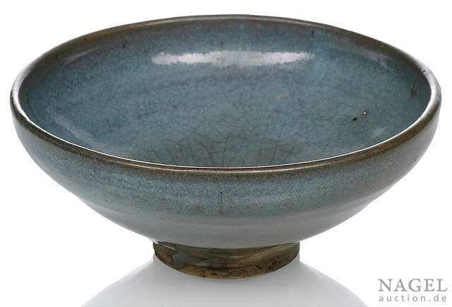 A purple-lavender-glazed Junyao bowl, China, Yuan dynasty
