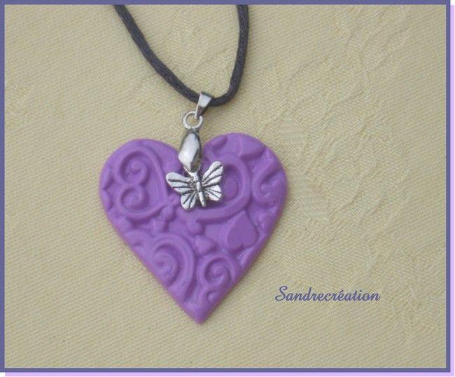 coeur au papillon