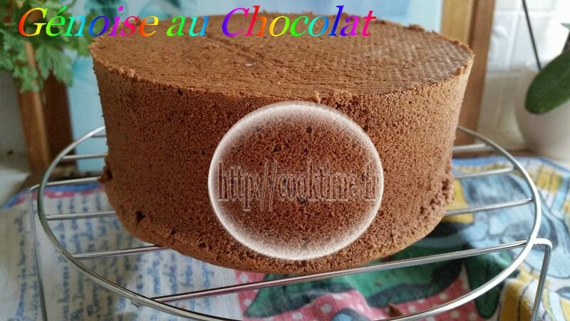 genoise chocolat au thermomix