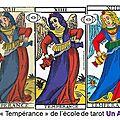 ecole de tarot - arcane temperance