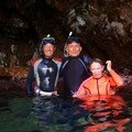 NORMAN ISLAND dans les grottes