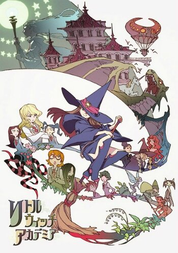 Poster-Little Witch Academia