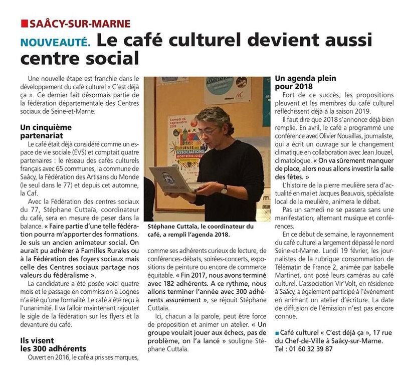 le cafe culturel devient centre social