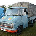 Opel blitz plateau bâché 1964
