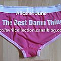 The Best Damn Tour, Paris France 10/06/2008-Culotte