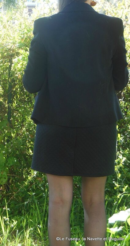 jupe molleton noir 6