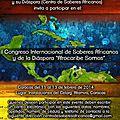 À caracas, premier congrès international des savoirs africains et de la diaspora