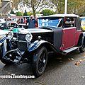 Ballot 2 LTS cabriolet Figoni de 1927 (Retrorencard novembre 2013) 01