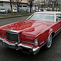 Lincoln continental mark iv hardtop coupe-1973