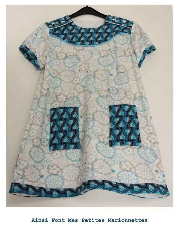 robe turquoise 5