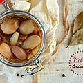 Pickles d'échalotes