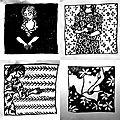 L'ombre de mes rêves (4), entre dessin et gravure...