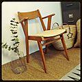 Vendu • fauteuil vintage scandinave •