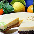 tarte pignon à la crème de clémentines