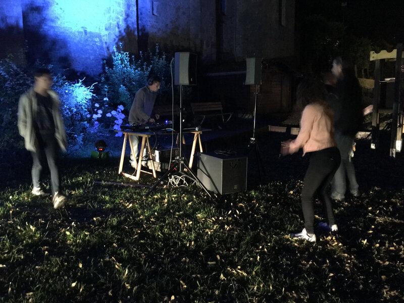 fête de la musique_Avranches_2018_jardin de l'évèché_DJ