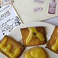 Biscuits sablés à la crème de citron et virgin mojito bio d'alice