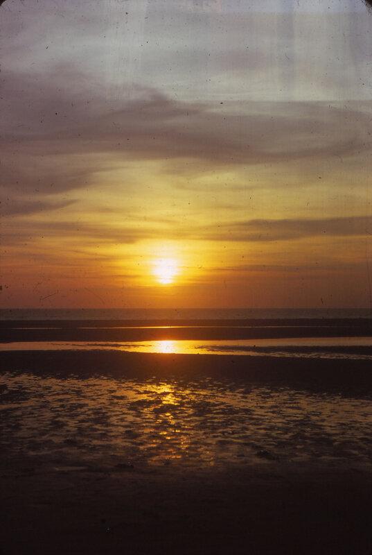 D 74 juillet Vacances à Berck 2 02 Coucher de soleil