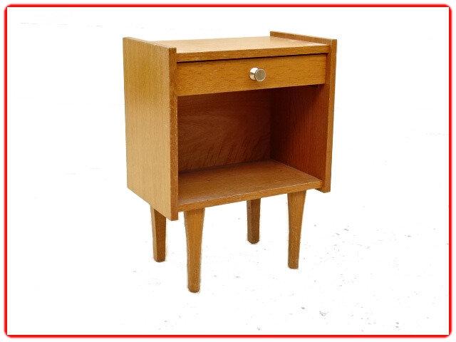 Chevet vintage 1960 bois clair