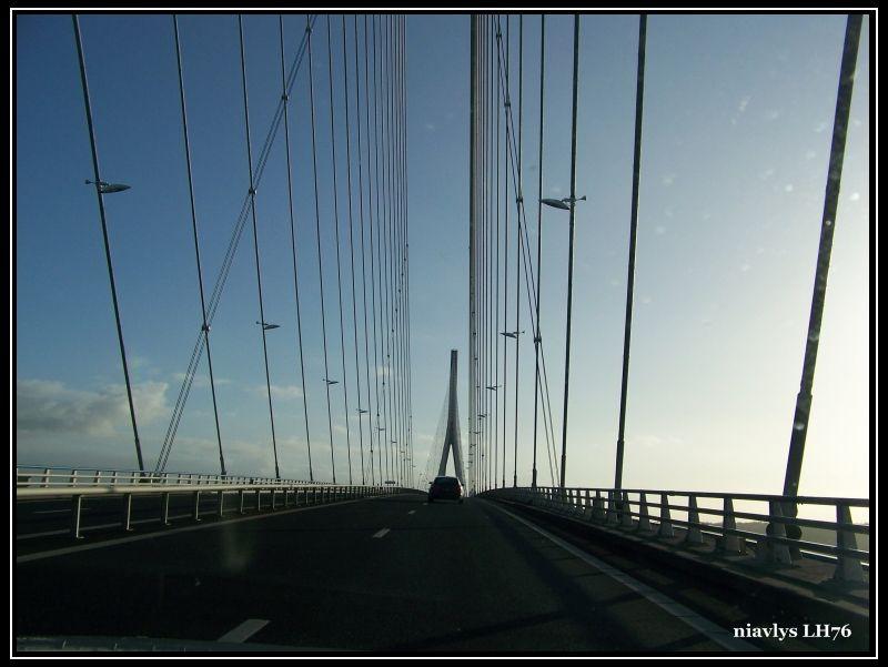 pont de Normandie par la rive droite 13