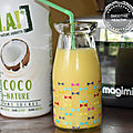 Smoothie healthy et vegan { mangue et lait de coco } au cook expert