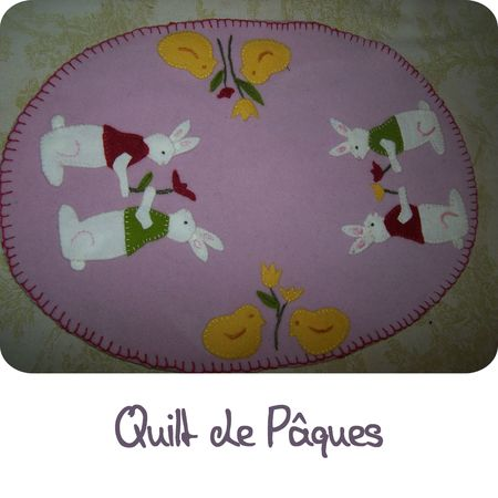 Quilt paques