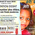 L'association said invitation debat vendredi 27 mars 2015