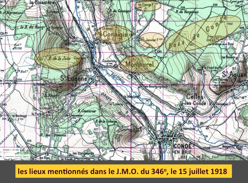 Monthurel, Aisne, carte IGN