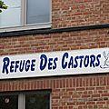 Castors/Visite Houdeng