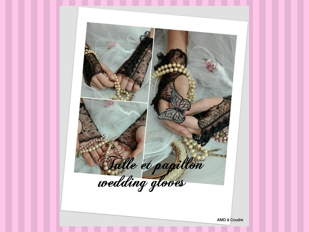 MARIAGE WEDDING ACCESSOIRES BRODERIE DENTELLE AMD A COUDRE (18)