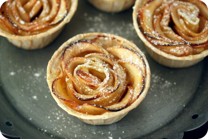 roses ou feuilletes aux pommes blog chez requia cuisine et confidences-001