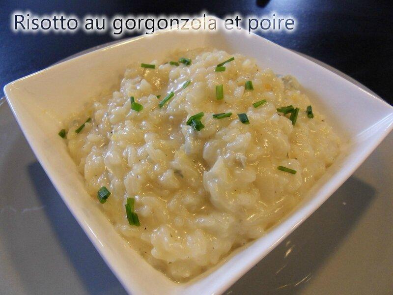 risotto au gorgonzolla et poires2