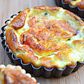 Mini quiches au saumon fumé
