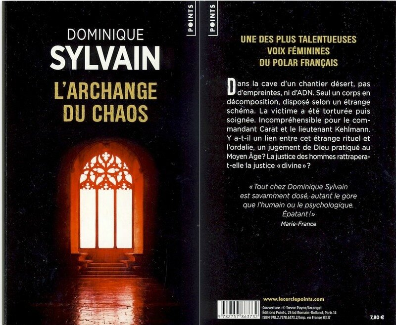3 - L'archange du chaos - Dominique Sylvain