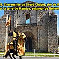 1268, chevauchée de girard chabot, sire de rays sur la terre de maurice, seigneur de belleville