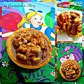 Tartelette aux noix et caramel