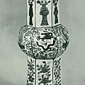 A wucai 'Dragon and Phoenix' hexagonal vase, Wanli mark in a double rectangle and of the period (1573-1619); 47 cm. high, illustrated in Mayuyama Seventy Years, vol. 1, Tokyo, 1976, no. 913.