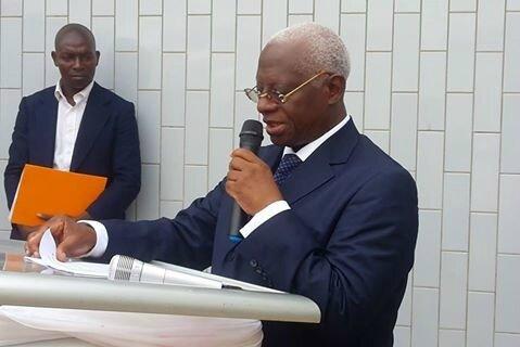 Intervention du Président SANGARE Abou Drahamane,Président par intérim du FPI,lors du 14ème anniversaire du quotidien Le Temps