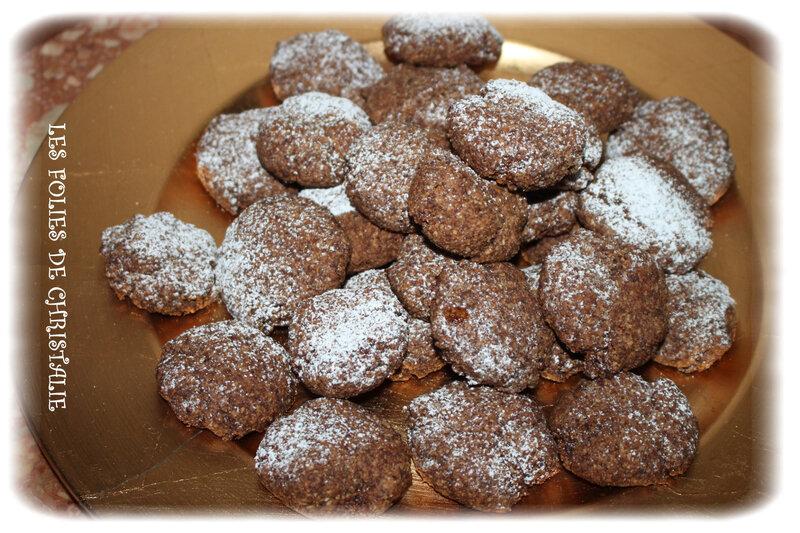Macarons noisette chocolat 3