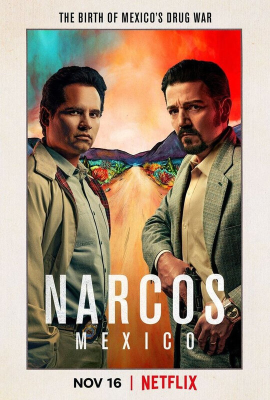 Narcos Mexico S1 affiche