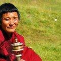 Moine tibetaine